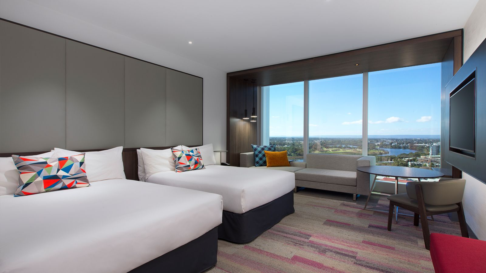 Aloft Twin Guestroom